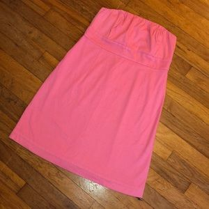NWOT Vineyard Vines pink strapless dress